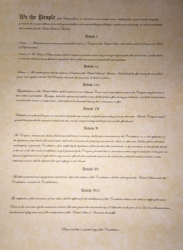 The Constitution Paper